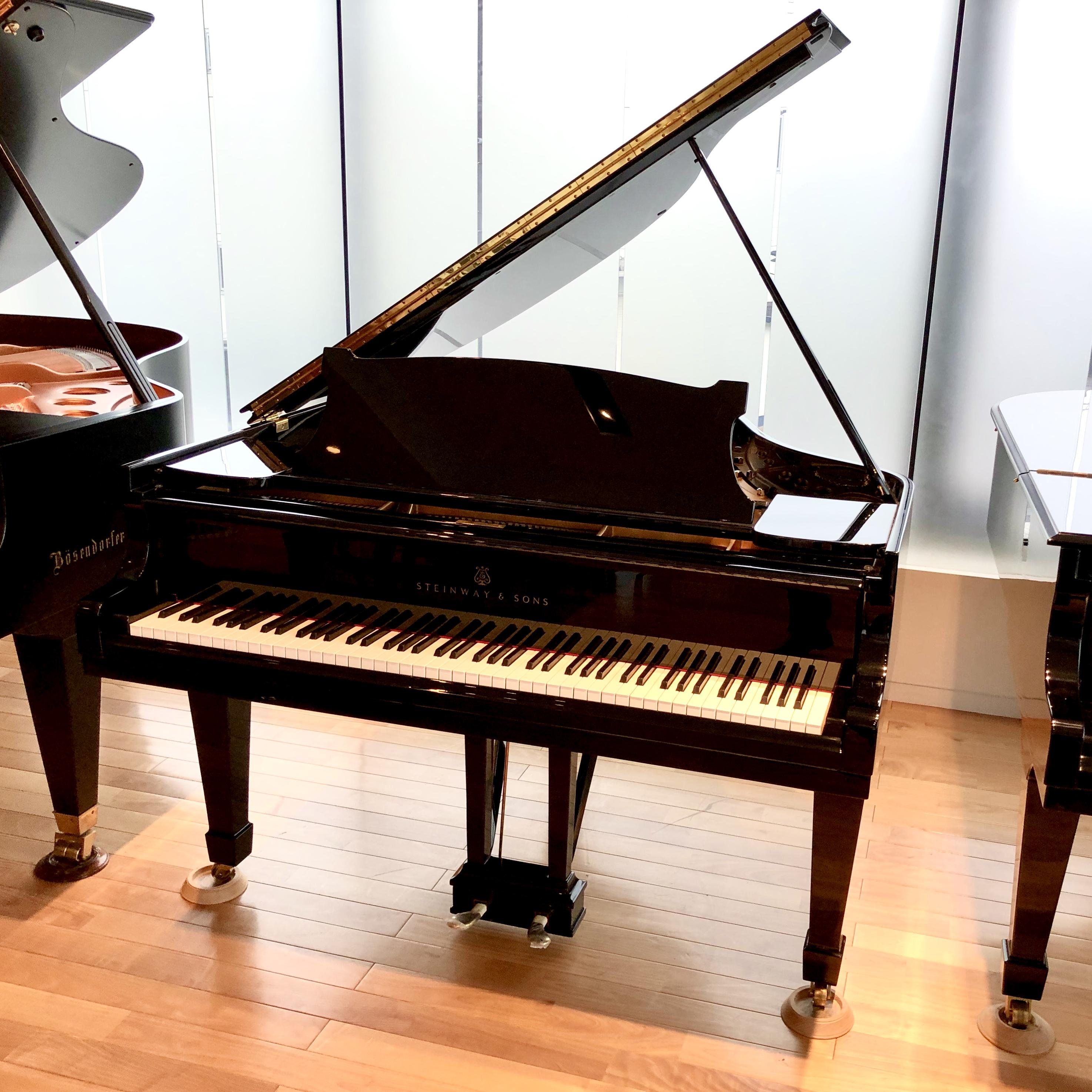 中古グランドピアノ【スタインウェイ/S型】S-155 関東
