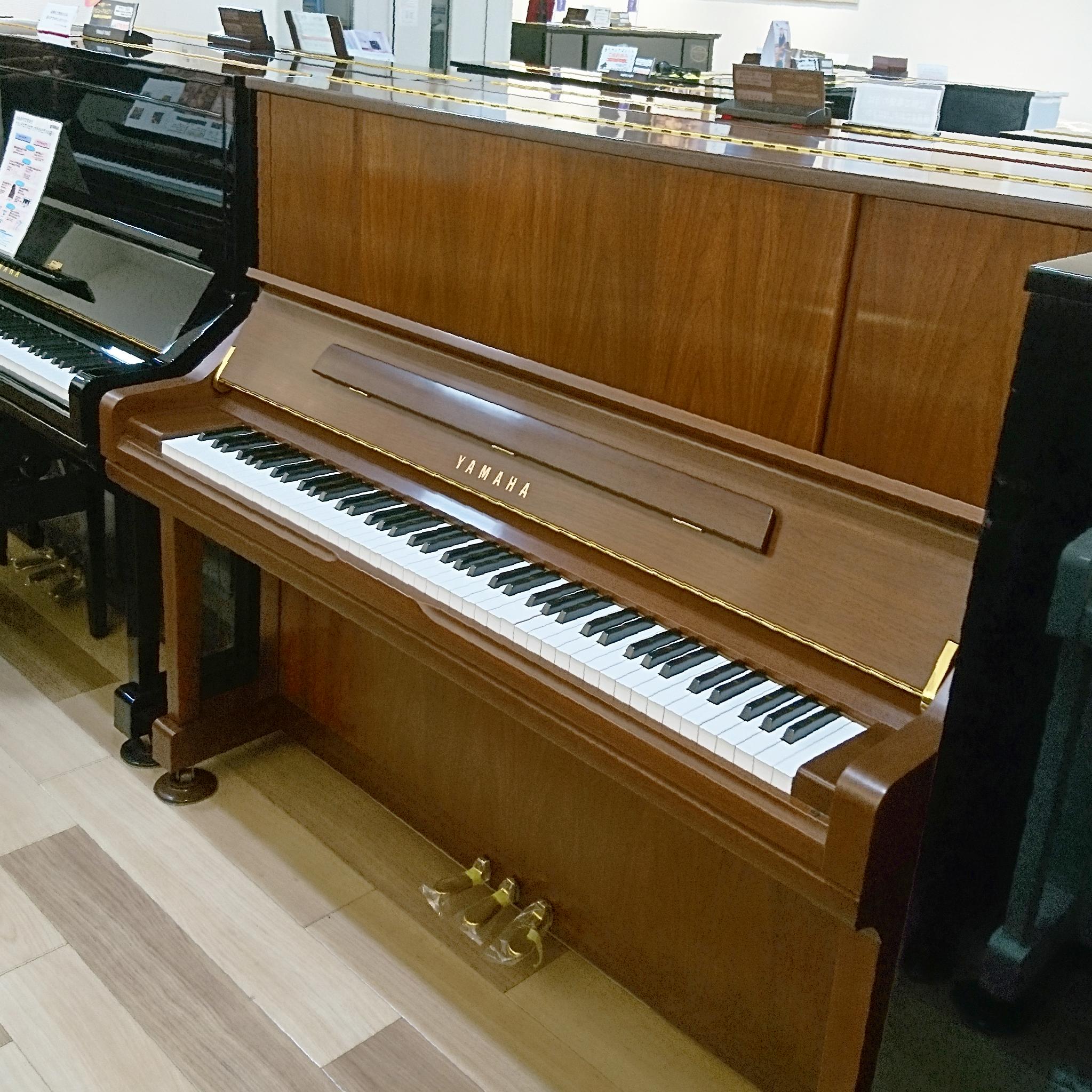 中古アップライトピアノ【ヤマハ/YU30WN】愛知サロン