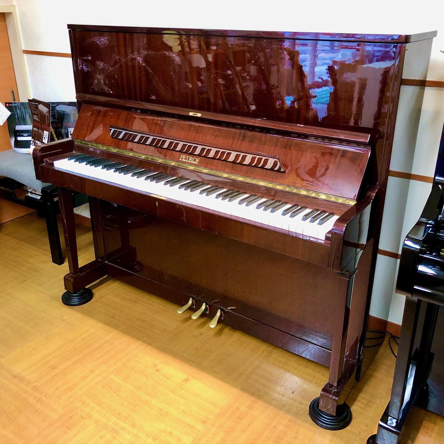 中古アップライトピアノ【ペトロフ/P125】名古屋八田本店